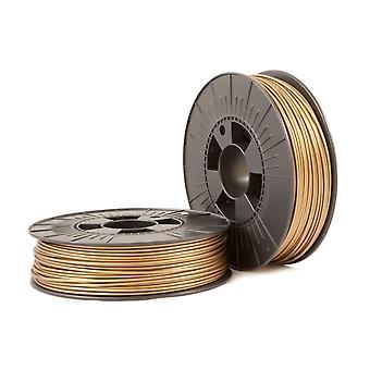 PLA 2,85mm Bronze gold ca. RAL 1036 0,75kg - 3D Filamentzubehör