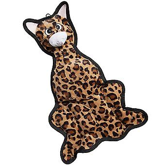 PetLou Re-Leopard Durable Squeeze Me Soft Squeaker Interactive Dog Chew Toy 18""