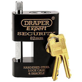Expert 82mm Heavy Duty Close Shackle Padlock and 2 Keys - 8314/82