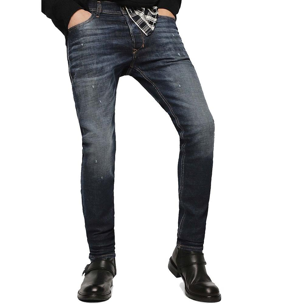 Diesel Tepphar 087at Stretch Slim Carrot Jeans