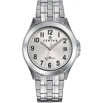 Certus 616292 relógio - relógio dinheiro aço homem