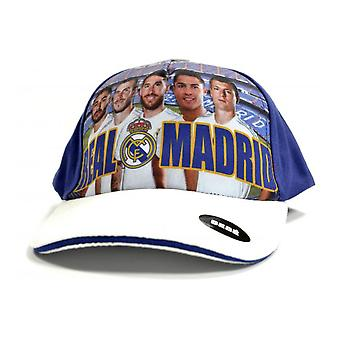 Real Madrid CF Official Kids/Childrens Player Cap