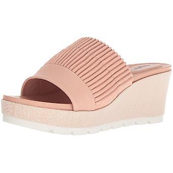 Tahari Womens Gigi Leather Open Toe Casual Platform Sandals