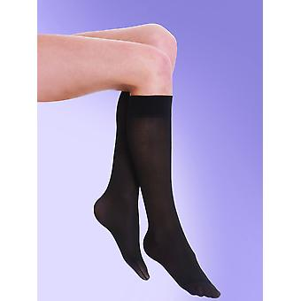 Silky 40 Denier Medium Support Flight Socks