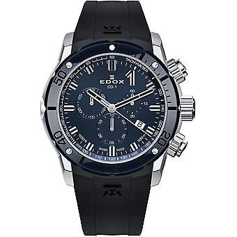 Edox 10221 3BU7 BUIN7 Chronoffshore-1 Men's Watch
