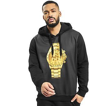Men's Hooded Sweater DNGRS Hoody Shirt Longsleeve with Logo Goldwatch Urban
