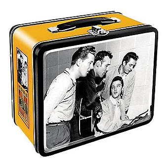 Elvis - million dollar quartet tin carry all fun box