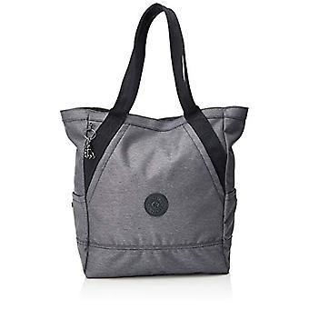 KiplingAlmato Woman Bag ToteNero (Charcoal)30 Cmx 375 Cmx 15 Centimeters (B x H x T)