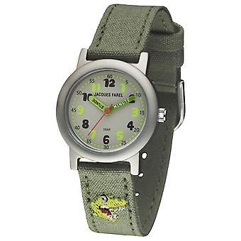 JACQUES FAREL Eco Kids Wristwatch Analog Quartz Garçons ORG 9912 Dino