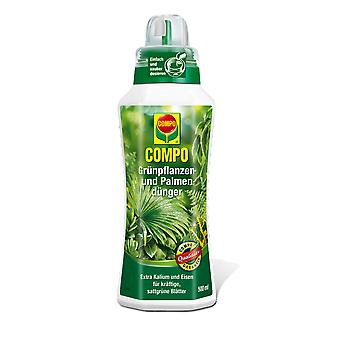 COMPO Green and Palm Fertilizer, 500 ml