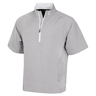 Footjoy Mens Performance Half-Zip S/S Water Repellent Golf Windshirt
