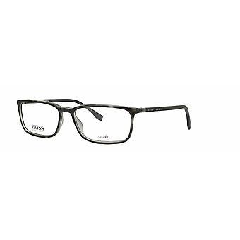 Hugo Boss 0963 ACI harmaa-musta laikullinen lasit