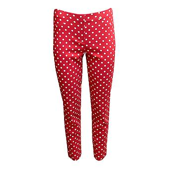 ROBELL Robell Red Trouser Bella 51560 54570 40