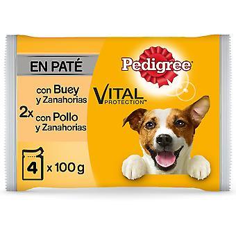 Pedigree Multipack Comida Húmeda de Pollo y Buey para Perros Adultos