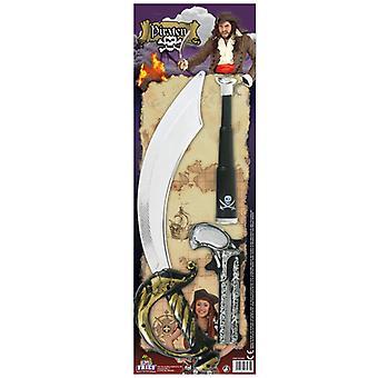 Pirate asettaa 3 kpl kiikarit Saber ase Seerüber lisävaruste