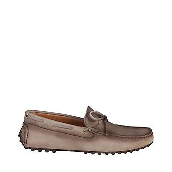 Trussardi Original Men All Year Moccasin - Brown Color 29769