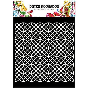 Niederländische Doobadoo niederländische Maske Kunst Schablone geometrische A5 470.715.501