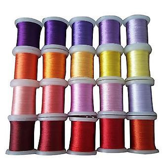 Nellie's Choice Yarn 20 bobbins embroidery thread set 7 09.03.09.007