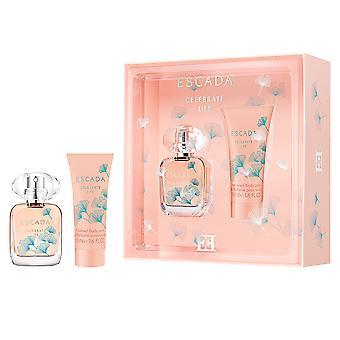 Escada Celebrate Life Eau de Parfum Spray 30ml Gift Set