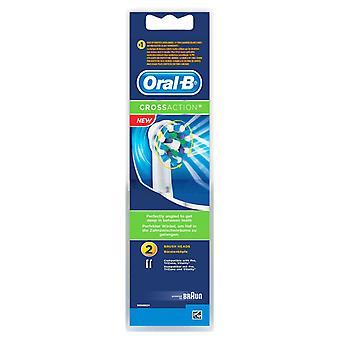Oral-B Cross Action 2 Cabezal de Cepillo