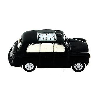 Miniature London Black Cab - Taxi Novelty Collectors Desktop Clock IMP410