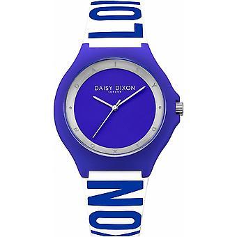 Daisy Dixon Ladies Womens Quartz Watch With Blue Silicone Strap DD040U