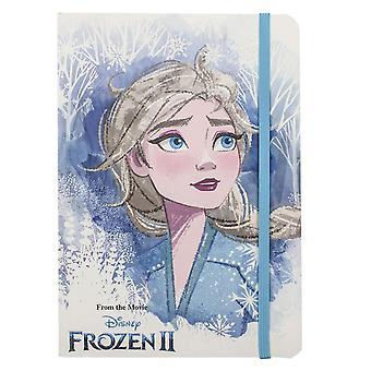 Frozen 2, Anteckningsbok med Glittrande Detaljer - Elsa