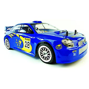 Cyclone Pro Nitro Radio Control Car Subaru Style Version