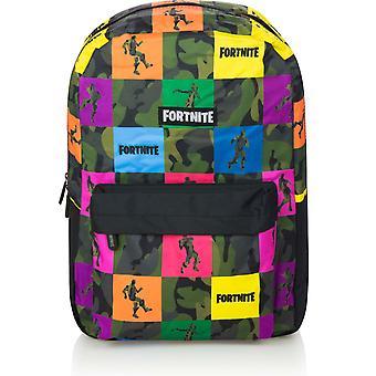 Fortnite Multicolor Satchel Backpack 43cm