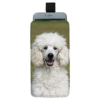 Dog Poodle Universal Mobile Bag