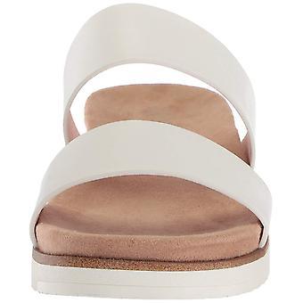 De vrouwen van de de open teen toevallige dia sandalen van de