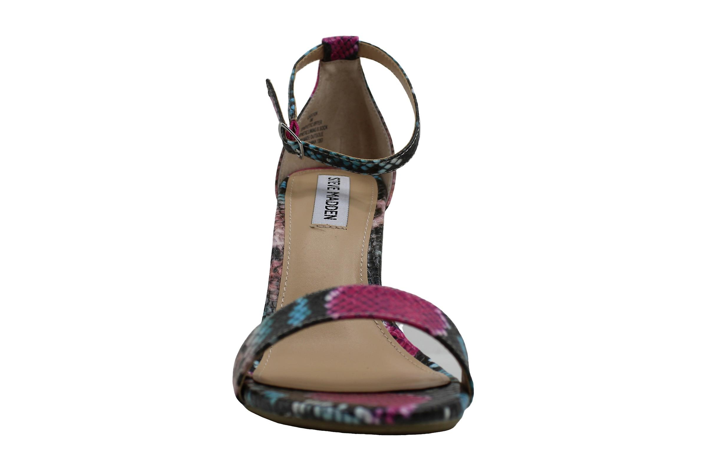 Steve Madden Femmes Carrson Peep Toe Casual Ankle Strap Sandales