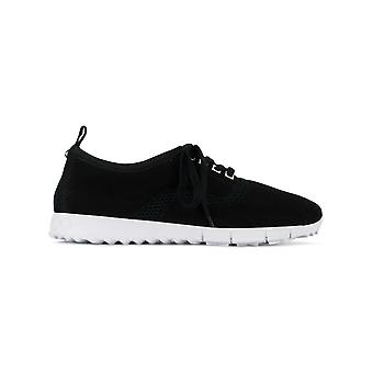 Jimmy Choo Ezcr028004 Uomini's Black Fabric Sneakers