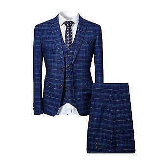 Allthemen Herren ansuits 3-Pieces Suit Business Casual Slim Blazer&Pants&Vest