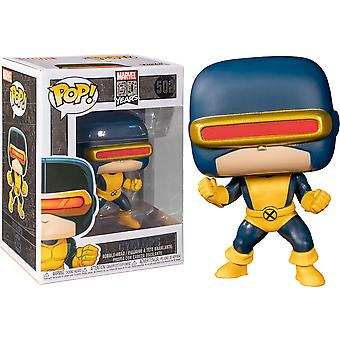 X-Men Cyclops 1st Appearance Marvel 80th Anniversary Pop!