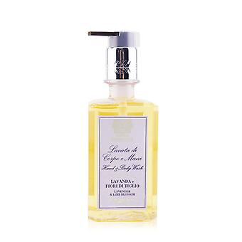 Hand & body wash   lavender & lime blossom 296ml/10oz