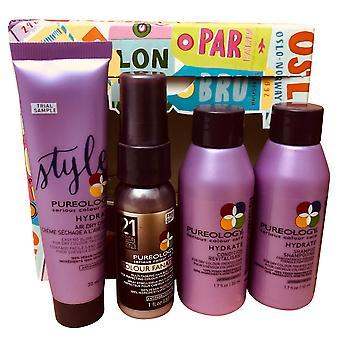 Pureology Essentials Vibrant Hair Anywhere Set