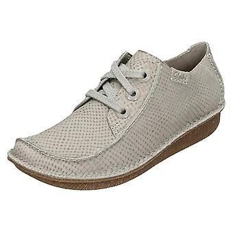 Ladies Clarks mukava pitsi ylös kengät hauska unelma