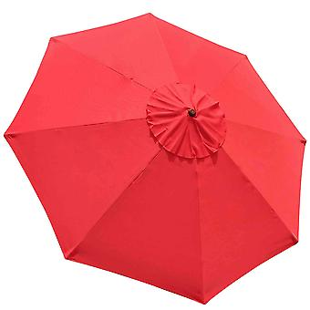 Yescom 9ft UV30+ Umbrella Replacement Canopy Sunshade Top Cover for Outdoor Yard Garden Patio Beach Poolside Deck Market