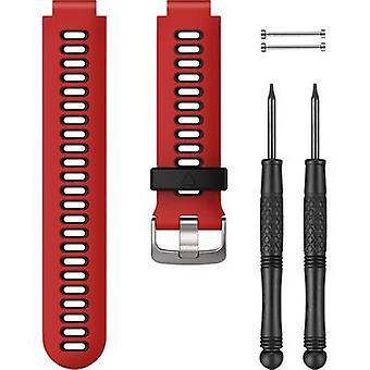 Garmin Silikonarmband für Forerunner 735XT Ersatzarmband Lava, Rot