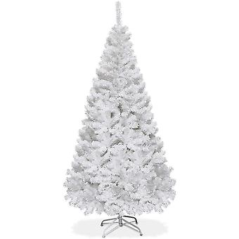 1.5M Christmas Tree Traditional White Artificial Xmas Trees Decor Indoor