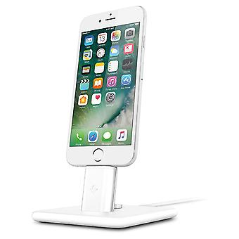 iPhone/Airpods/iPad Wireless Charging Stand- HiRise Deluxe2- Twelve South, White