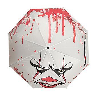 IT Pennywise Face Liquid Reactive Umbrella