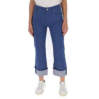 Chloé Chc20adp0515341f Women's Blue Cotton Jeans