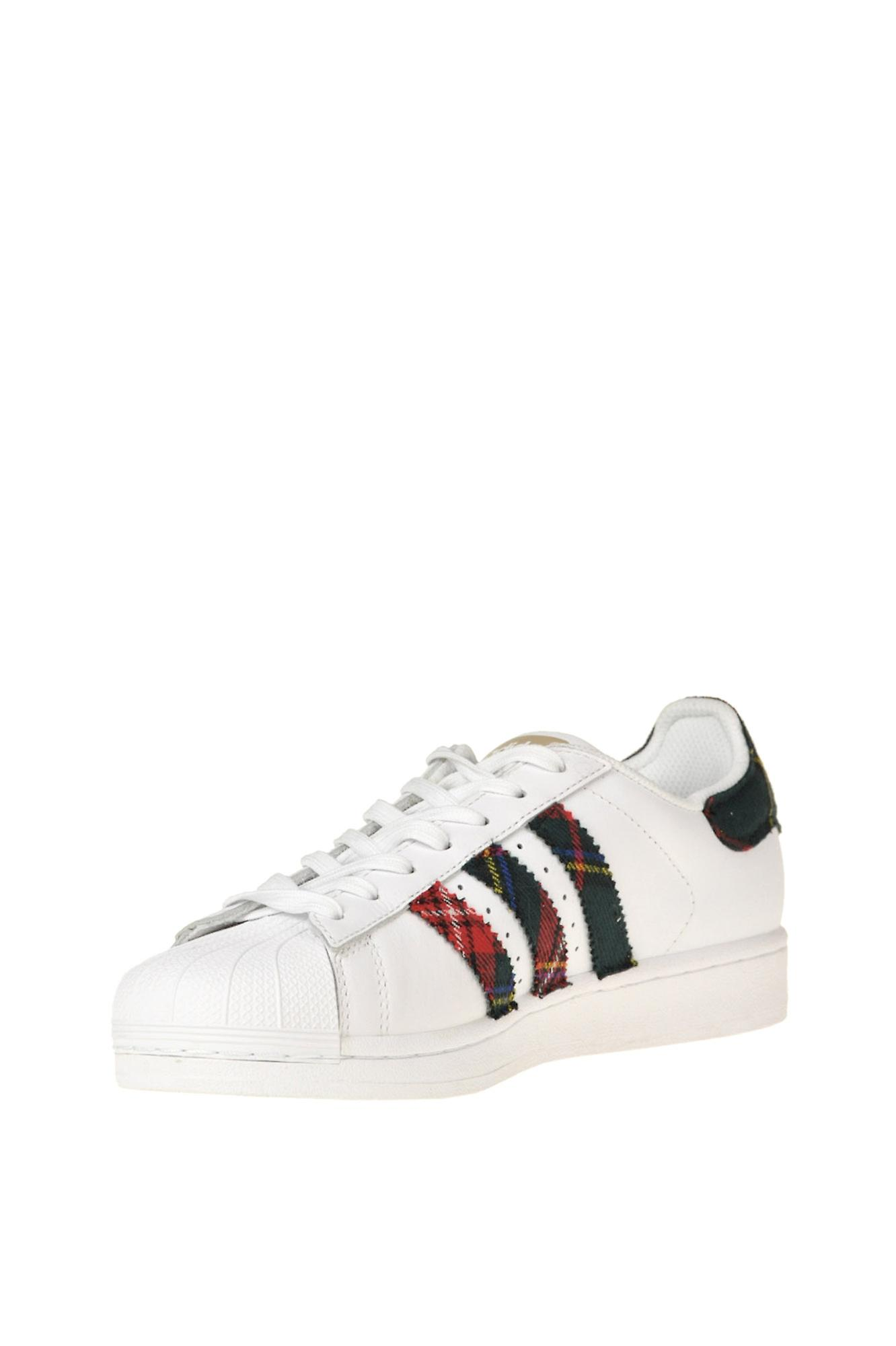 Adidas By Dressed Ezgl142008 Women's White Leather Sneakers