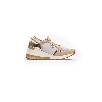 Beige Serre Polo Sneakers dames