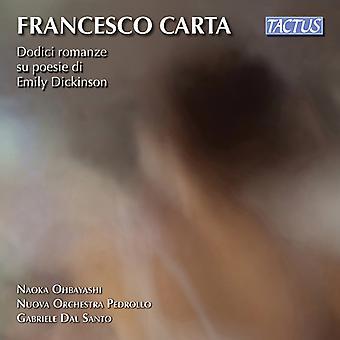Dodici Romanze Poesie Dickinso [CD] USA import