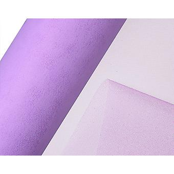 25m Lilac 15cm Net Tulle on Roll for Crafts