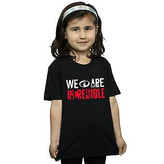 Disney Girls Incredibles 2 Wir sind unglaubliche T-Shirt