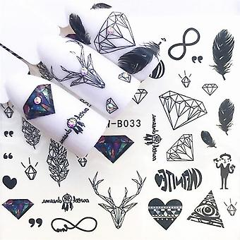 Nail Art Stamp, Stencil Tool Kit Stamper Design